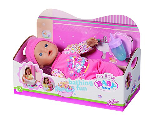 Zapf Creation 819722 - My Little BABY born Bathing Fun