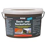 Pufas Dach- und Sockelfarbe Acrylatfarbe      5