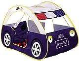Goodparty 子供用テント パトカー型 室内テント キッズ テント ポリスカー ハウス 誕生日 プレゼント おもちゃ 知育玩具