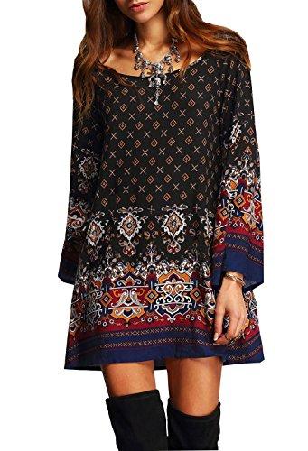 daysoft-women-casual-vintage-o-neck-long-sleeve-a-line-bohemia-print-tunic-shift-dress-l-b-d-2