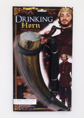 Medieval Drinking Horn Prop