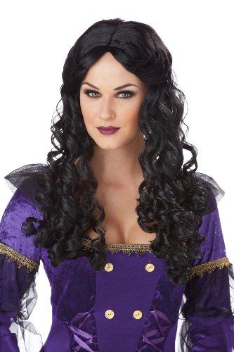 California Costumes Women'S Renaissance Wig, Black, One Size