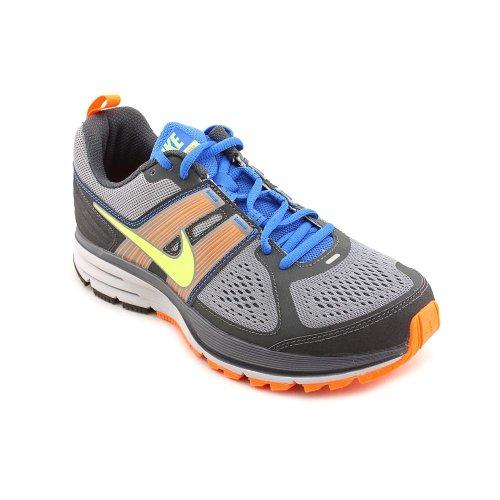 Men s Nike Air Pegasus 29 Trail Running Shoe Grey Orange ...