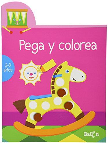 PEGA Y COLOREA (ROSA) - BALLON