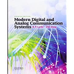 Modern Digital and Analog Communication Systems (The Oxford Series in Electrical and Computer Engineering) [Import] available at Amazon for Rs.11770
