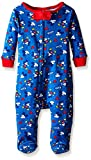 Disney Baby Boys' Mickey All Over One Piece Blanket Sleeper