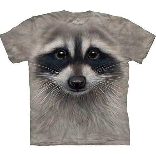 The Mountain Raccoon Face T-Shirt