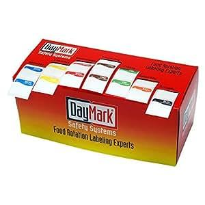 """de lunes a domingo, 1 """"Etiquetas absorbibles Square : Office Products"""