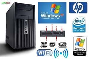 HP DX2300 Powerful Pentium Dual Core Wi-Fi Enabled PC - 160GB Hard Drive - 2GB Memory - DVD Writer - Media Card Reader - Windows XP Professional SP3