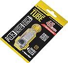 NiteCore Tube Keychain Light T Series 45 Lumen Multi Color Pocket Flashlight, Transparent