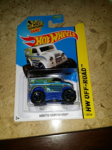 2014 Hot Wheels Hw Off-Road Monster Dairy Delivery (Silver) - 1