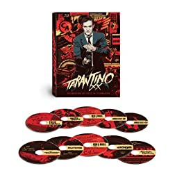 Tarantino XX 8-Film Collection [Blu-ray] (Pulp Fiction/Inglourious Basterds/Reservoir Dogs/Kill Bill Vol. 1/Kill Bill Vol. 2/Jackie Brown/Death Proof/True Romance)