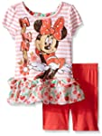 Disney Girls' 2 Piece Minnie Mouse Bi...