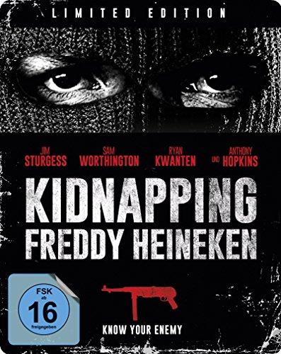 Kidnapping Freddy Heineken - Steelbook [Blu-ray] [Limited Edition]