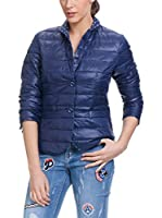 Tantra Chaqueta Guateada Quilted With Pockets (Azul Marino)