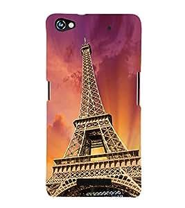 Paris Wonder 3D Hard Polycarbonate Designer Back Case Cover for Micromax Canvas Hue 2 A316
