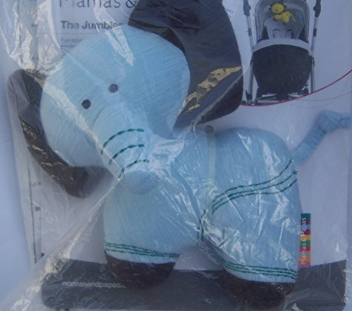 Jumbles Soft Toy - Blue Elephant - 1