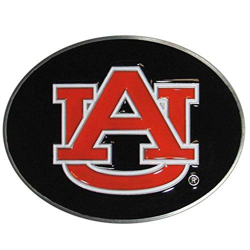 NCAA Auburn Tigers Logo Belt Buckle, Black