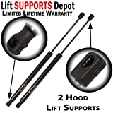 Qty (2) Acura TL 2006 2007 2008 Front Hood Lift Supports, Shocks, Struts Springs