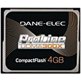 DANE-ELEC DACF3004GC HIGH-SPEED COMPACTFLASH? CARD (4 GB)