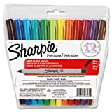 Sharpie 37172 Ultra Fine Point Permanent Marker, Assorted Colors, 12-Pack ~ Sharpie