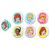 DecoPac Disney Princess Gemstone Princess Cupcake Rings (12 Count)