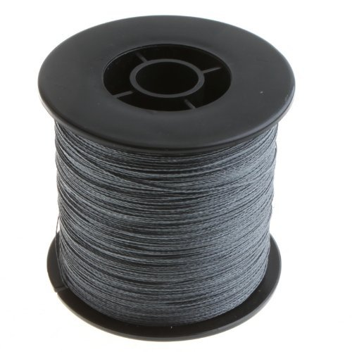 Spear 500M 30Lb Grey Pe Braided Boat Fish Fly Strong Braid Fishing Line Wire Cord Wire