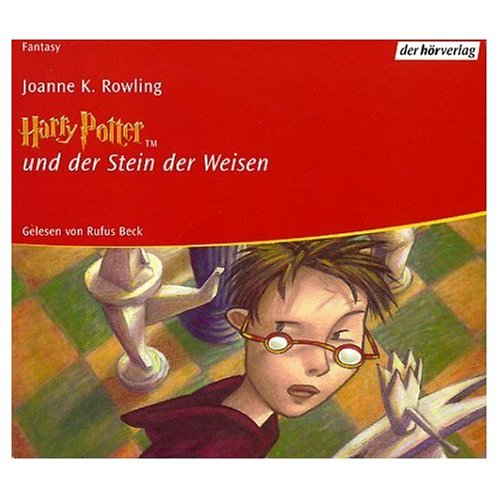 Harry Potter und der Stein der Weisen (German Audio CD (9 Compact Discs) Edition of