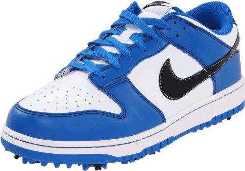 Nike Dunk NG Mens Golf Shoes Retro Style (White/Soar, 9.5 UK)
