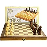 Standard Wooden Fold-Up Chess Set