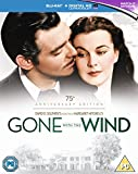 Gone With The Wind - 75th Anniversary Edition [Blu-ray] [1939] [Region Free]