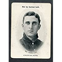 1906 WG3 Fan Craze Bill Bernhardt Indians VG-EX 273522 Kit Young Cards