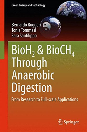BioH2 & BioCH4 Through Anaerobic Digestion: From Research to Full-scale Applications (Green Energy and Technology) PDF