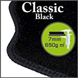 Vauxhall Chevette 1975 - 1983 Classic Black Tailored Floor Mats