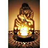 M.G.R.J Sai Baba Shadow Lamps Tealight Candle Holder Stand For Pooja And Decorative