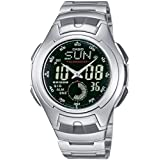 Casio Collection Herren-Armbanduhr Analog / Digital Quarz AQ-160WD-1BVEF