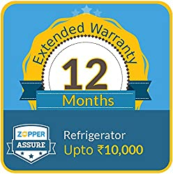 Zopper Assure 12 Months Extended Warranty for Refrigerator (Upto Rs 10000)