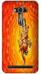MANNMOHH DESIGNER HARD BACK COVER FOR ASUS ZENFONE 2 LASER 5.5