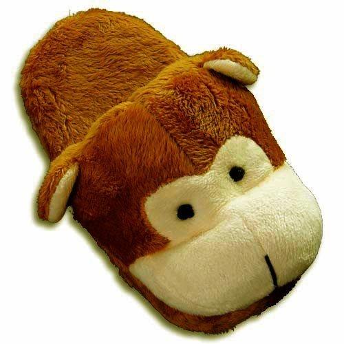 Cheap Tru-Fit – Womens Monkey Slippers, Tan, Cream 27923 (B0064R55P8)