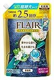 【大容量】フレアフレグランス 柔軟剤 プレシャス&ホワイトブーケの香り 詰替用 1200ml