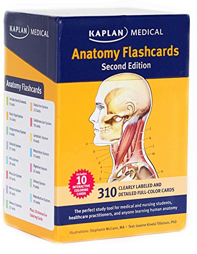 Anatomy Coloring Book 2nd Edition : Anatomy flashcards toolfanatic