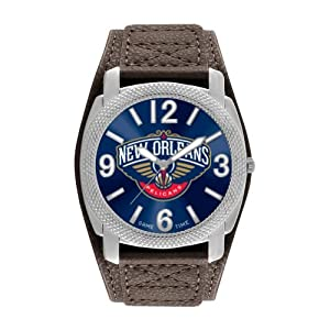 Game Time Mens NBA-DEF-NO New Orleans Hornets Defender Analog Display Japanese Quartz... by Game Time