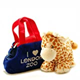 LZ Flag Plush Bag and Giraffe