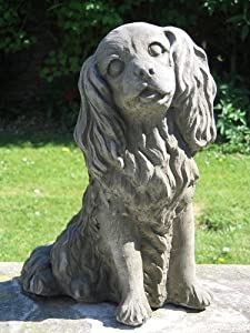 Dragonstone Cavalier King Charles Dog Statue Amazon Co Uk