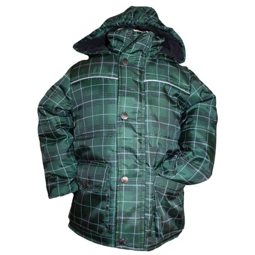 Outburst - Winter jacket boys, green