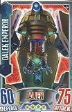 Alien Attax - 059 DALEK EMPEROR (Alien) Individual Trading Card.