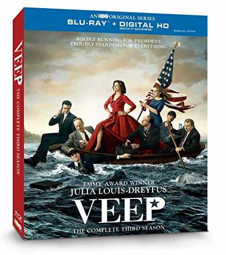 Blu-ray : Veep: The Complete Third Season (Full Frame, Dolby, Digital Theater System, , Digitally Mastered in HD)