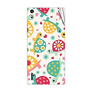 Garmor Designer Mobile Skin Sticker For Huawei C8817L - Mobile Sticker