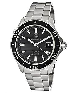 Tag Heuer Aquaracer WAK2110.BA0830 Automatic Silver Steel Bracelet & Case Anti-Reflective Sapphire Men's Watch