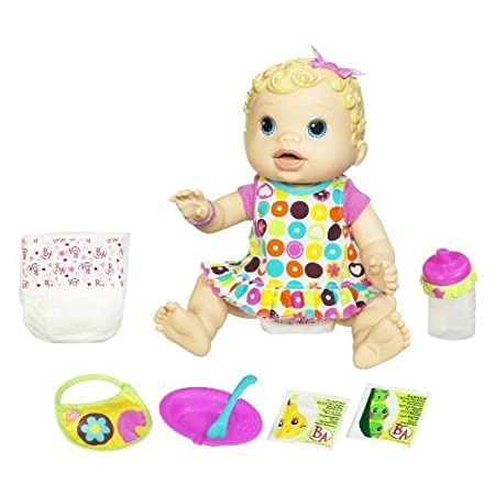 Baby Alive Changing Time Baby - Blonde by Hasbro (English Manual)